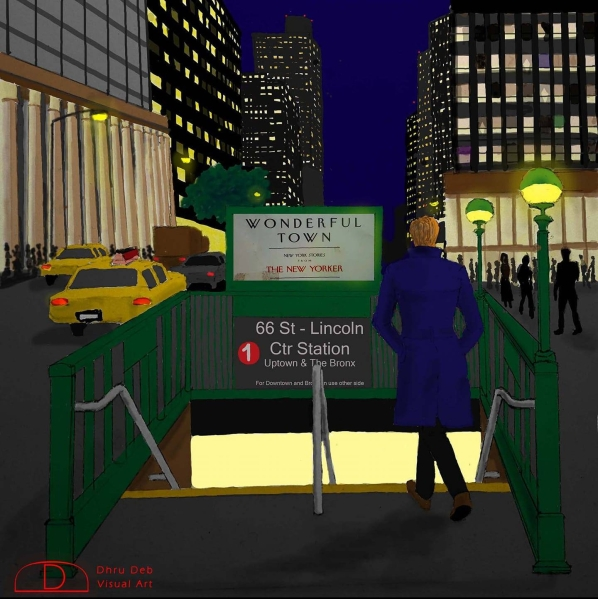 deb lincoln center subway nyc
